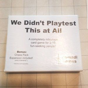 We Didn't Playtest This At All by Asmadi Games